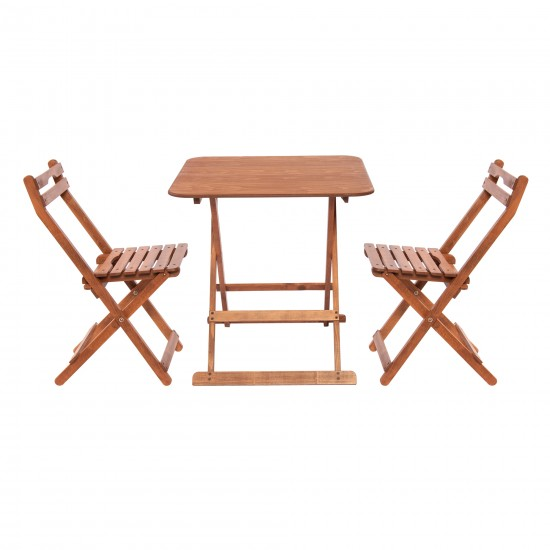 GRUP - M 108-Masa(70*70)cm (1 Adet) +110 -Sandalye(2 Adet)