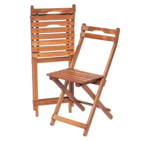 110-Modermo Ahşap Katlanır Sandalye (35*30*42)cm.